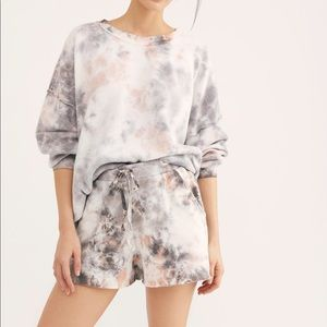 NWT Free People Kelly Washed Set in Coral
